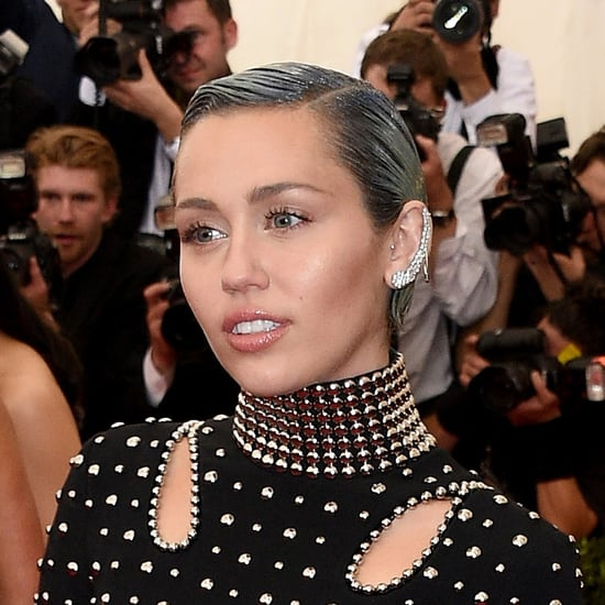 Miley Cyrus Blue Hair and the Met Gala 2015