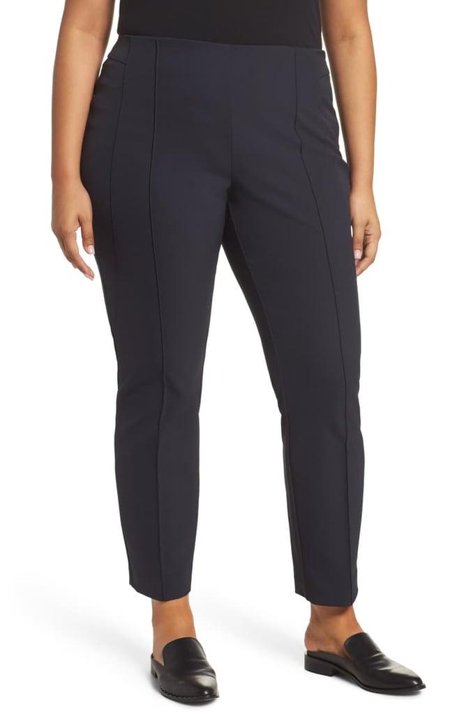 Lafayette 148 New York Acclaimed Gramercy Stretch Pants (Plus Size)