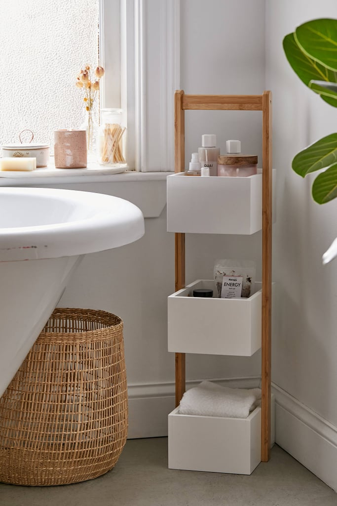 3-Tier Bamboo Bath Storage Caddy