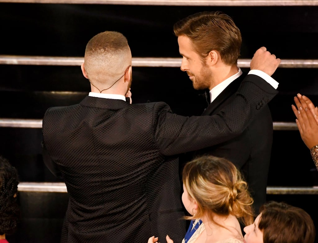 Ryan Gosling had an awkward reunion with childhood pal Ryan Gosling.