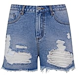 Kendall + Kylie High Rise Denim Shorts