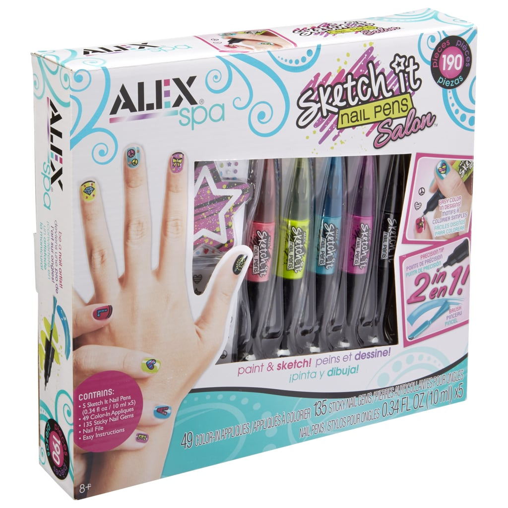 Alex Spa Sketch It Nail Pens | Gift Guide For 8-Year-Olds | POPSUGAR ...