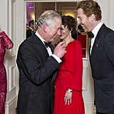 Prince Charles had a good laugh with Damian Lewis at the the annual Princes Invest In Futures reception in London in February.