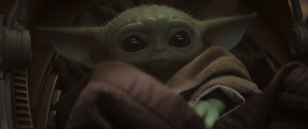 Baby Yoda in The Mandalorian Chapter 1