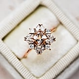 Jasmine Morganite Cluster Ring