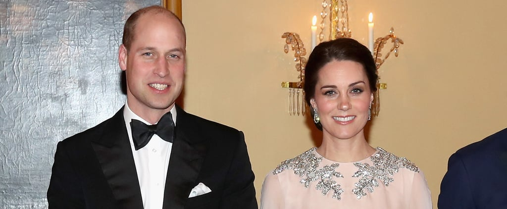 Someone Put Kate Middleton in a Disney Movie Right Now, Her Cape Dress Is So Freakin' Regal