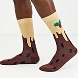 ASOS Design Ankle Socks With Christmas Pudding Print
