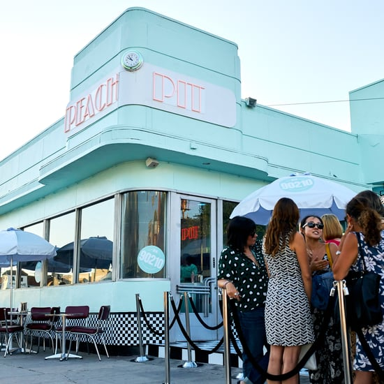 BH90210 Peach Pit Pop Up in Los Angeles