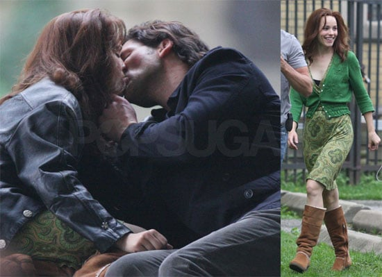 Photos of Rachel McAdams Kissing Eric Bana While Filming The Time Traveler's Wife