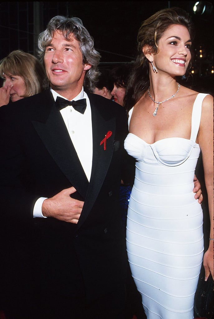 Cindy Crawford at the 1993 Academy Awards