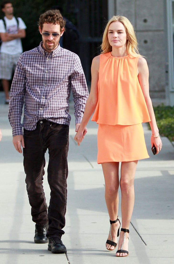 Kate Bosworth Meets Up With Her Man Michael Following a Chat With Chelsea