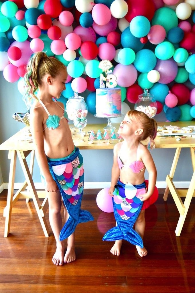 Colorful Mermaid Birthday Party Ideas