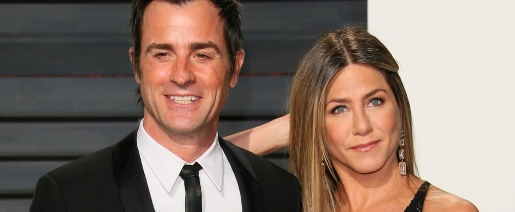 "Justin Theroux Found ""Sweet"" Post-it Notes From Brad Pitt While Married to Jennifer Aniston"