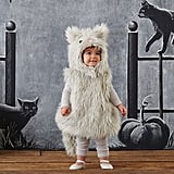 Gray Puffy Kitty Costume