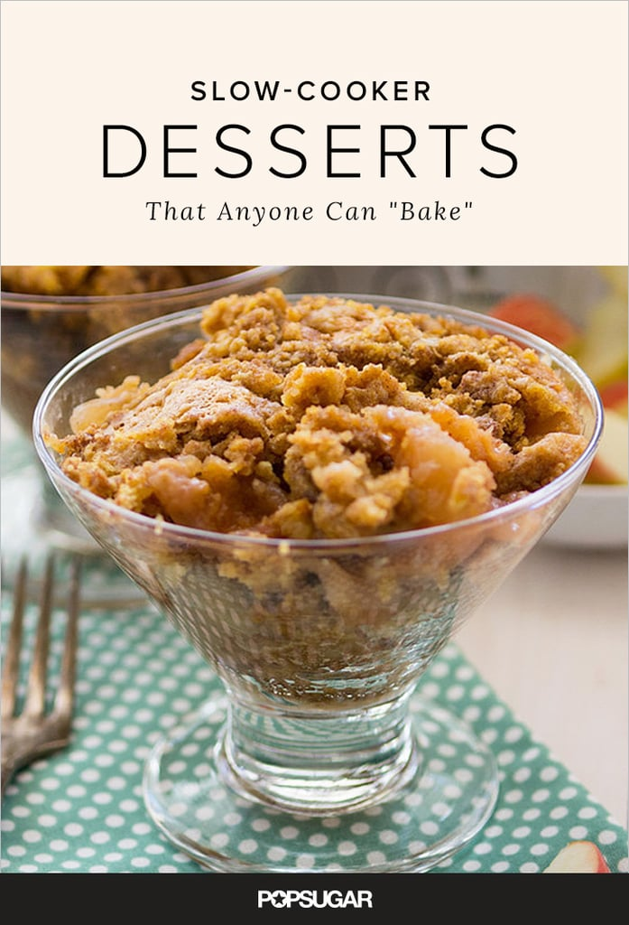 Slow-Cooked Dessert Recipes