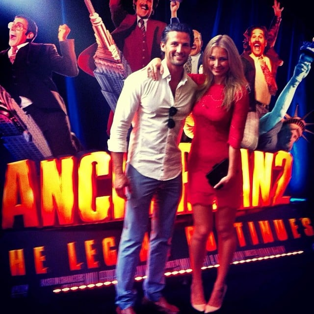 And their first public movie date was at the Australian premiere of Anchorman 2! Source: Instagram user mrtimrobards
