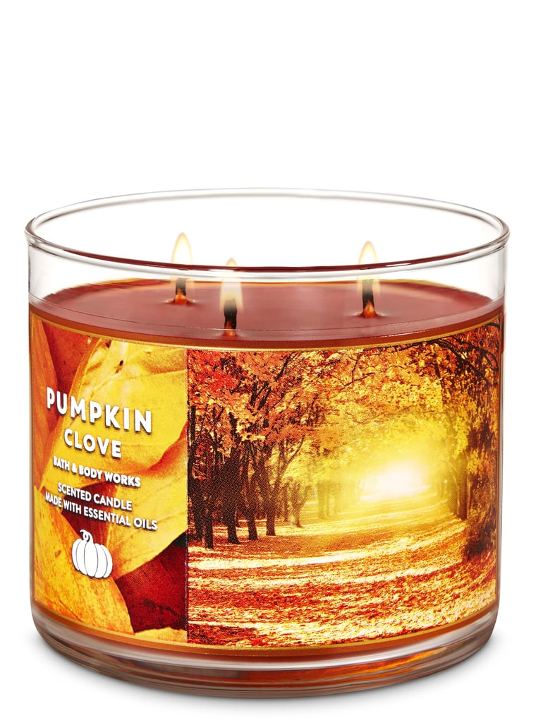 Bath and Body Works Pumpkin Clove 3-Wick Candle