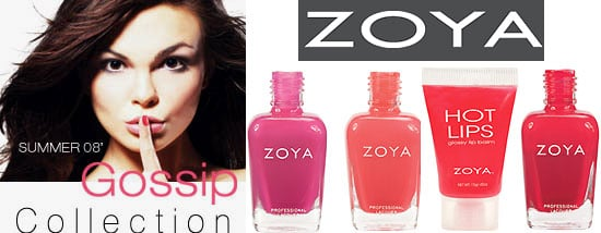 Summer 2008 Zoya Gossip Collection