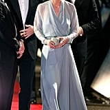 Kate Definitely Looks Glam in Long Sleeves