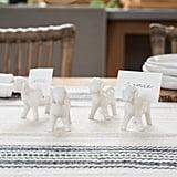 Stoneware Goat Card Holders