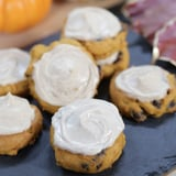 Easy Pumpkin Chocolate Chip Cookies With Cold Brew Cream Cheese Frosting