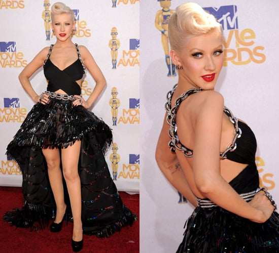 Christina Aguilera at 2010 MTV Movie Awards
