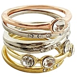 This Target Tricolor Ring Stack ($20) looks worth much more than its paltry price tag.