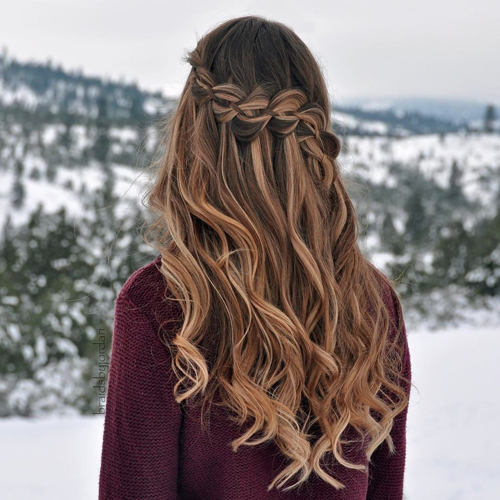 Christmas Party Hairstyles Popsugar Beauty Uk