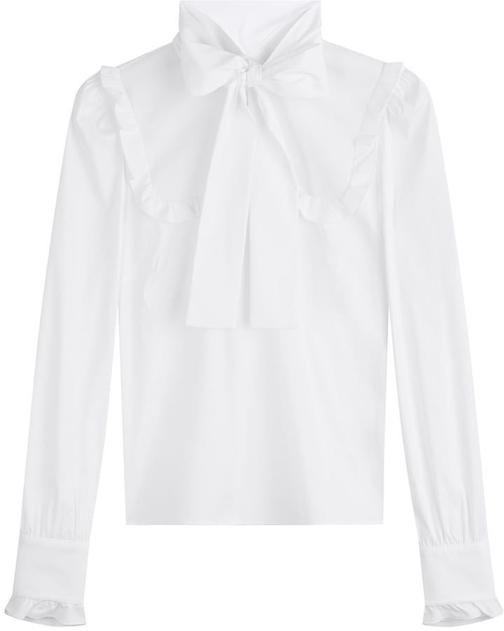 a tie neck top easy clothes to buy for fall 2016 popsugar Ribbon Top 10 a tie neck top