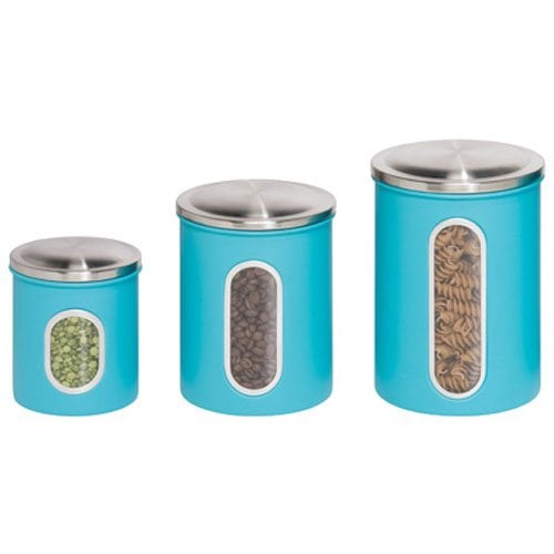 3-Piece Metal Nested Canister Storage Set