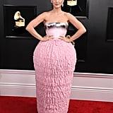 Katy Perry Balmain Dress at the 2019 Grammys