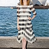 Emma Stone at a Sydney Press Event For The Amazing Spider-Man 2 in 2014