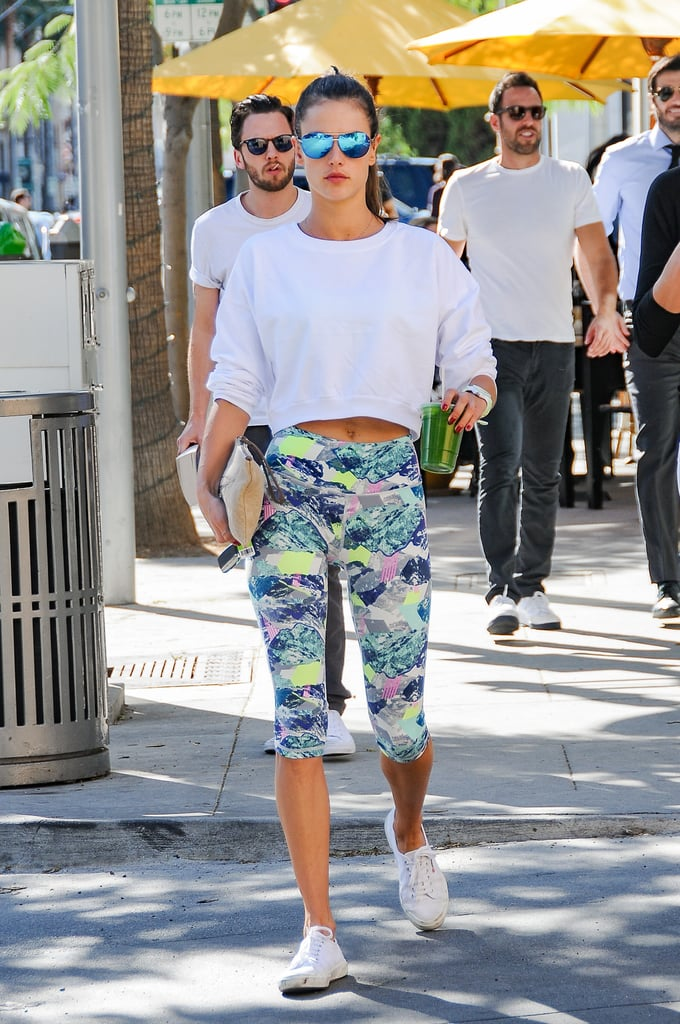 19 Perfect Workout Outfits to Steal From Alessandra Ambrosio