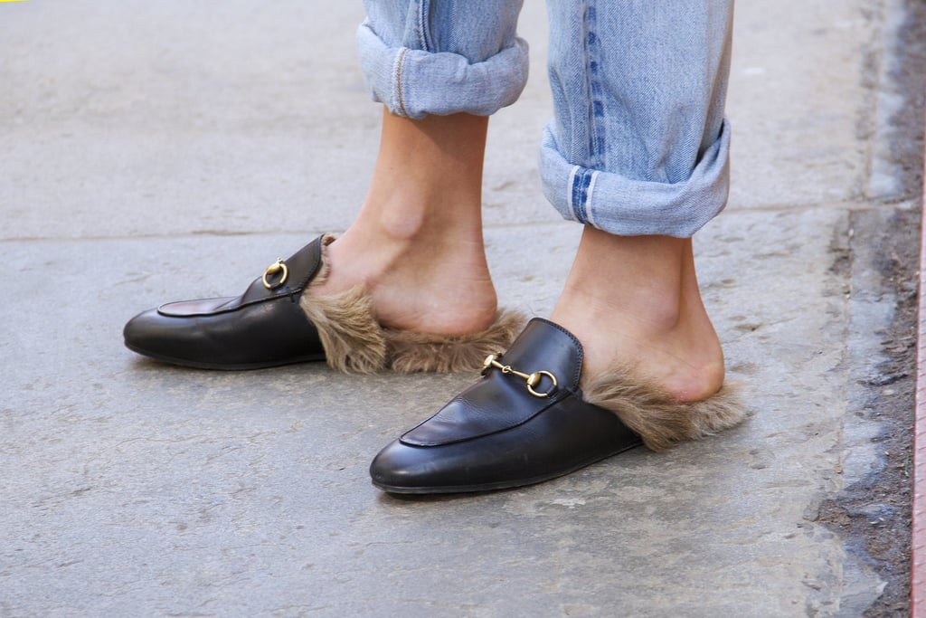 These Furry Gucci Slip-Ons Were a Hit During Fashion Week