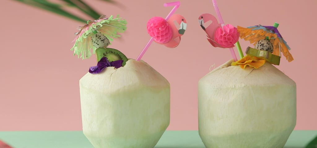 This Mango Basil Tiki Fizz Is the Low-Cal Drink You'll Sip All Summer