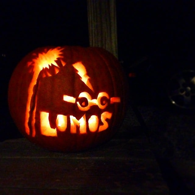 Lumos And Elder Wand Harry Potter Pumpkin Ideas