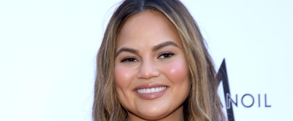 Chrissy Teigen Posts Funny Fake Met Gala Makeup Tutorial