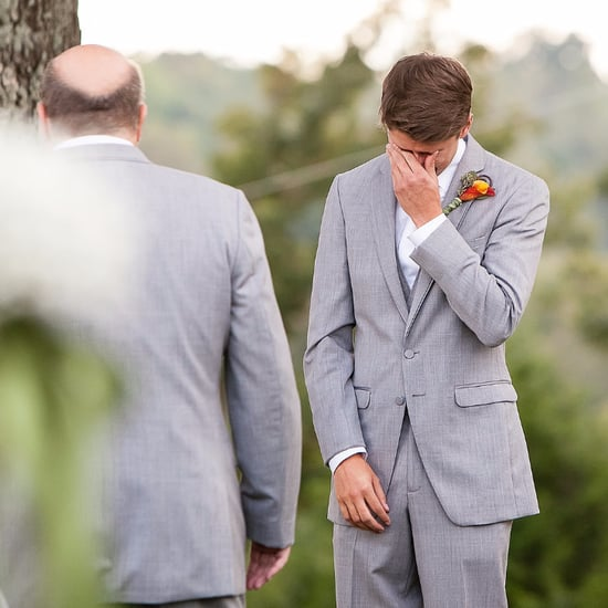 Groom Cries When He Sees Bride | Video