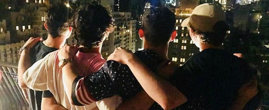 Joe Jonas and Nick Jonas Fourth of July Pictures