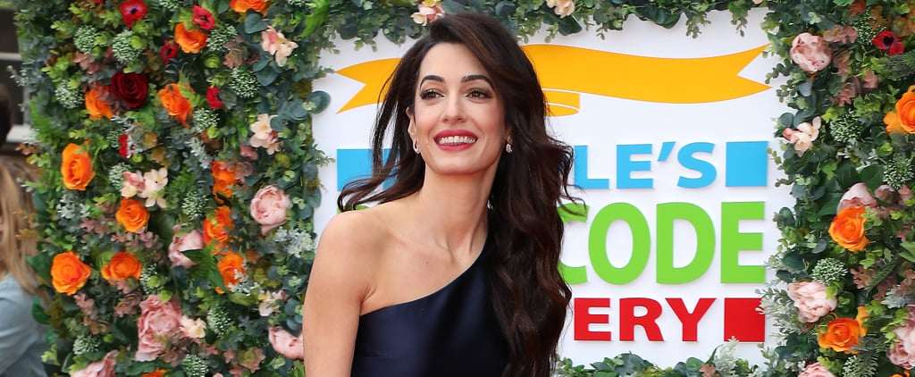 Amal Clooney Jumpsuit at Postcode Lottery Charity 2019
