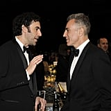 Sacha Baron Cohen talked it up with Daniel Day-Lewis.