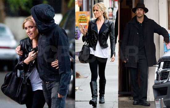 Photos of Kristin and Justin Bobby