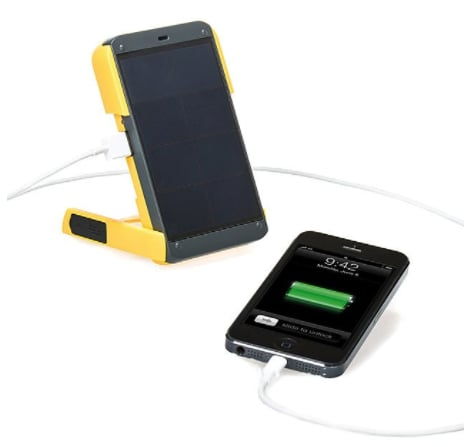 Solar Powered Charger and Light