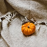 Decorate mini pumpkins.