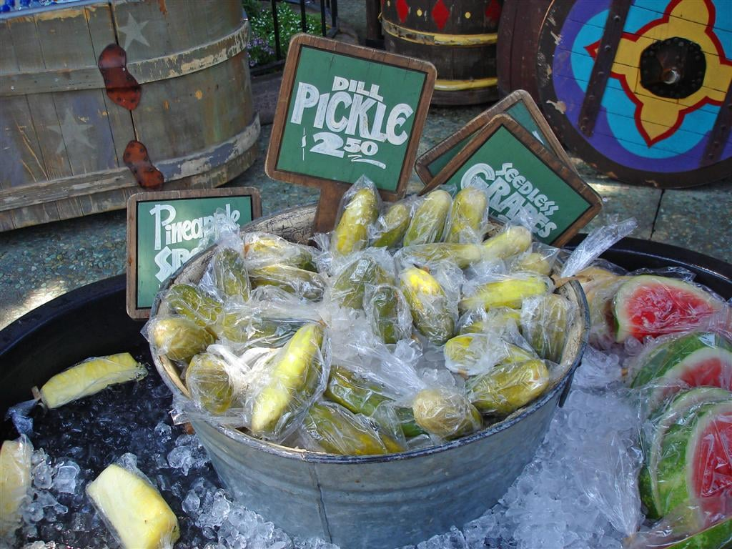 Image result for pickle disneyland