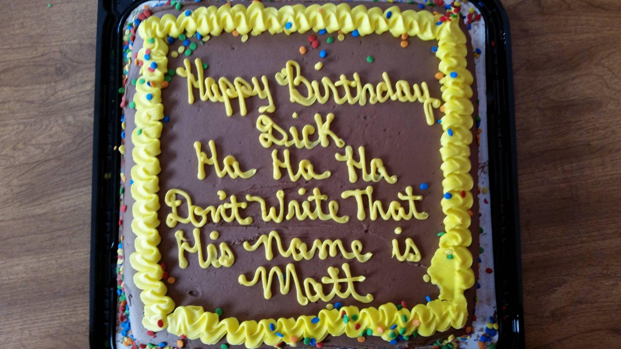 Funny Birthday Cake Popsugar Love Sex