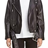 Acne Studios Women's Merlyn Leather Moto Jacket