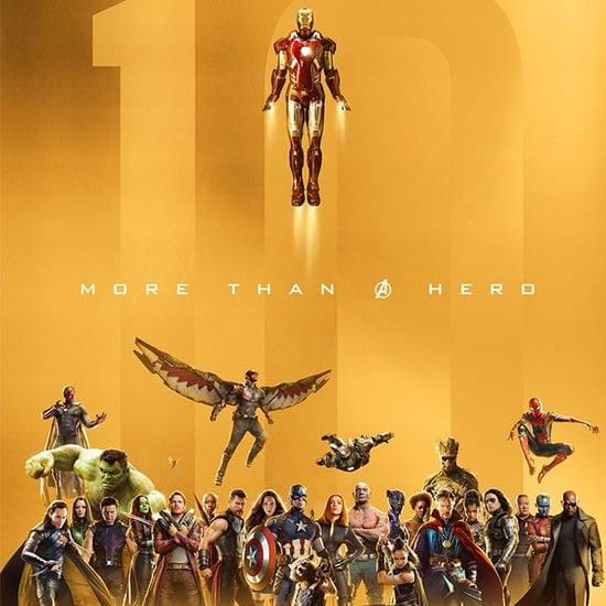 Marvel Studios Celebrating 10th Anniversary Posters