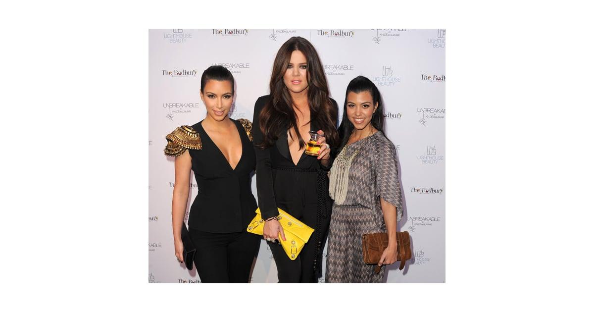 Kim, Khloe, and Kourtney Kardashian Confirm Nail Polish Collection ...