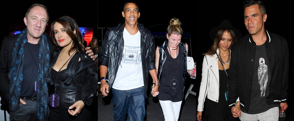 Celebrities At Beyonce Jay Z On The Run Tour Delta Goodrem